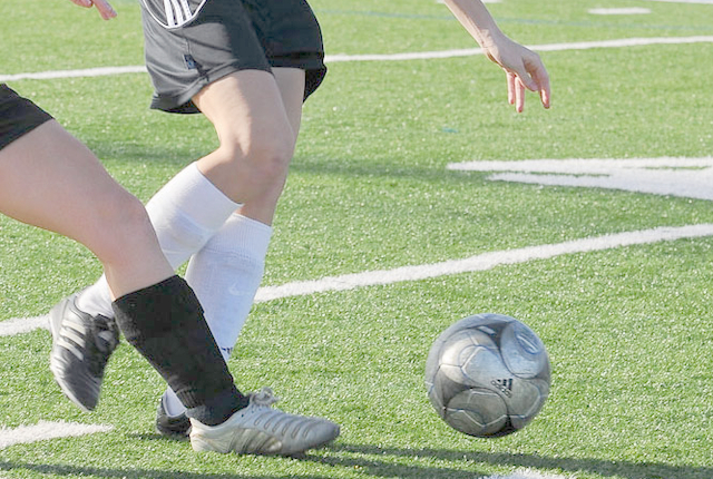 Fodboldkamp 1. Division Slutspil Pulje 2 kvinder - Fortuna Hjørring mod Vildbjerg