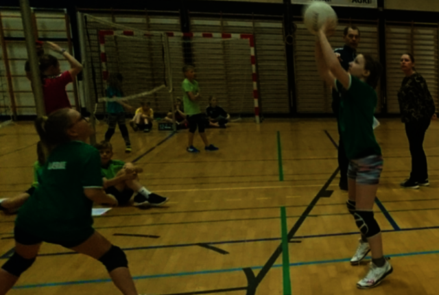 Volleyball for 3. 5. klasse